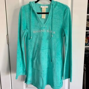 Micheal Kors Terry Cloth Beach/Pool Cover-up